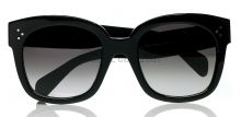Céline new Audrey sunglasses black on IamItalian.com - Worldwide Shipping