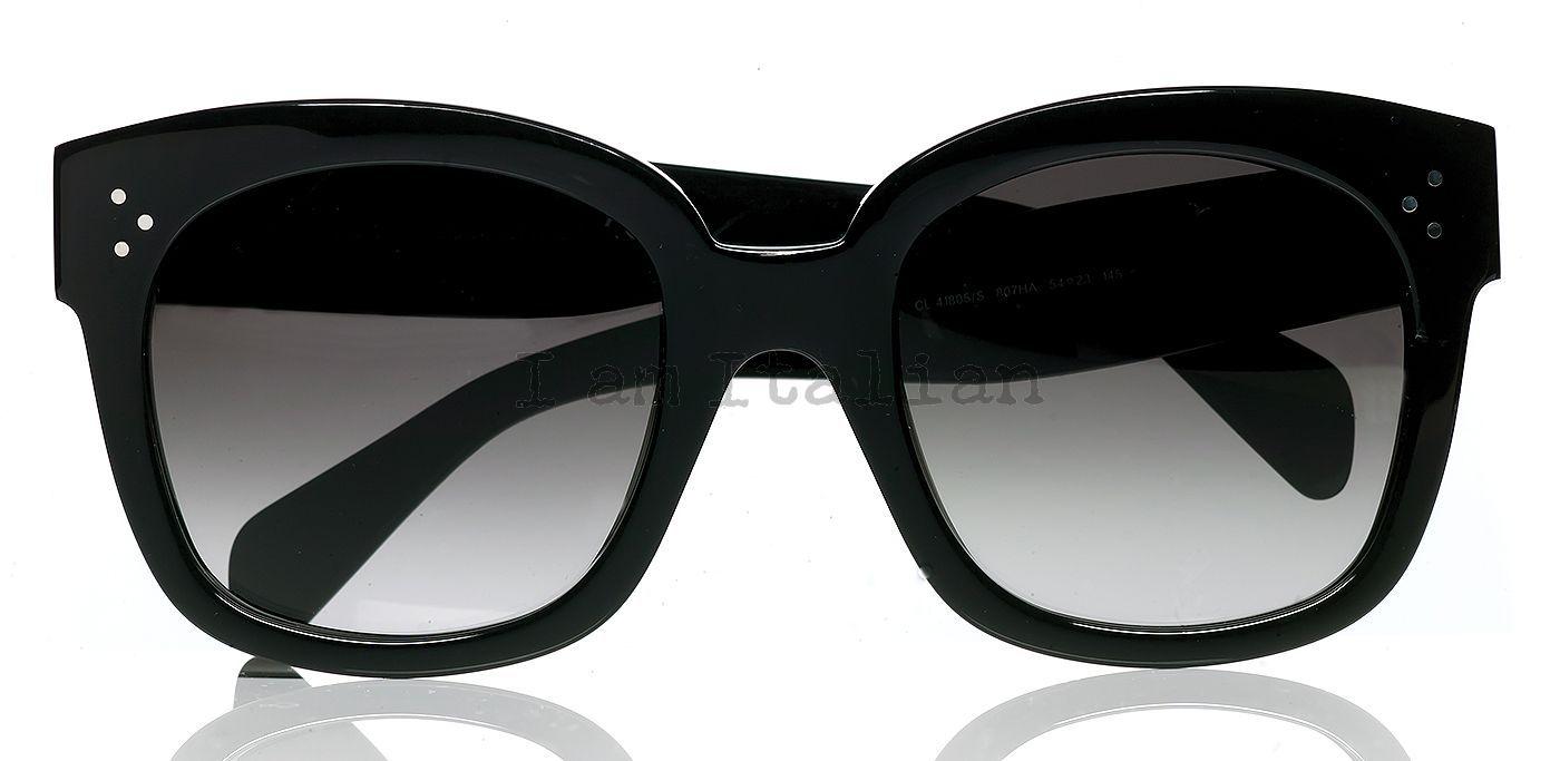 In Sunglasses Céline Audrey Black New QBCWdexro