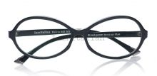 IamItalian Oval shape eyeglasses deep black limited edition  on IamItalian.com - Worldwide Shipping