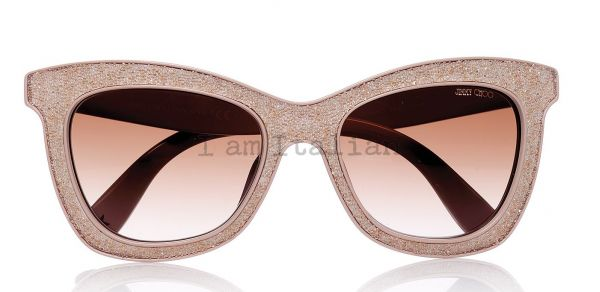 Jimmy Choo sunglasses sparkling rose