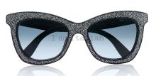 Jimmy Choo sunglasses sparkling silver  on IamItalian.com - Worldwide Shipping