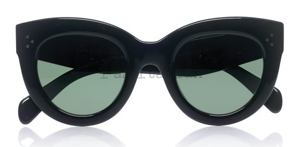 Céline black transparent cat eye sunglasses 2014