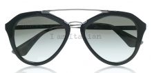 Prada pilot sunglasses black metal details 2014 on IamItalian.com - Worldwide Shipping
