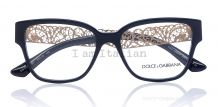 Dolce&Gabbana filigrana gold eyeglasses black 2014 on IamItalian.com - Worldwide Shipping