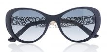 Dolce&Gabbana gold filigrana round cat eye sunglasses 2014 on IamItalian.com - Worldwide Shipping