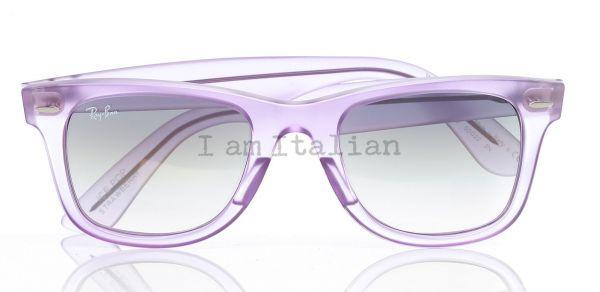Rayban wayfarer sunglasses gloss liliac