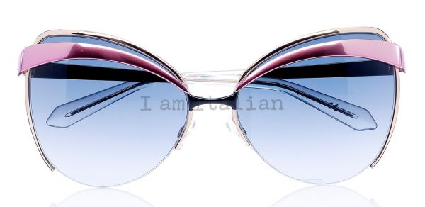 Dior metal sunglasse pink blue gold