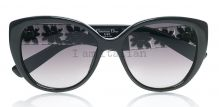 Dior black butterfly sunglasses crystal temples on IamItalian.com - Worldwide Shipping