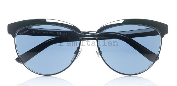 Gucci black metal sunglasses 2014