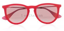Rayban round red velvet 2014 on IamItalian.com - Worldwide Shipping