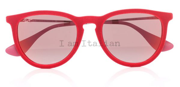 Rayban round red velvet 2014