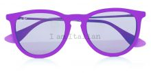 Rayban round velvet purple on IamItalian.com - Worldwide Shipping