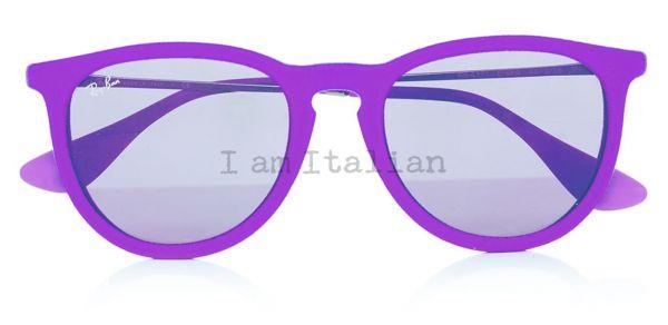 Rayban round velvet purple
