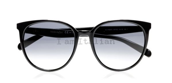 Céline big round black sunglasses