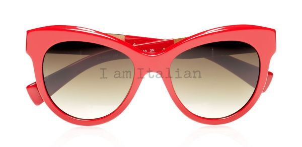 Dolce & Gabbana Mosaic sunglasses red