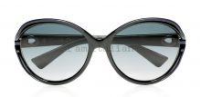 Dior round small sunglasses blue