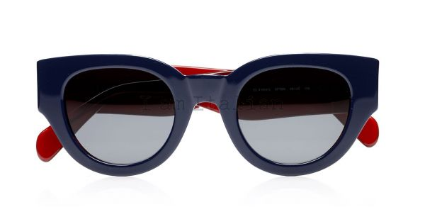 Cèline bicolour sunglasses purple blue