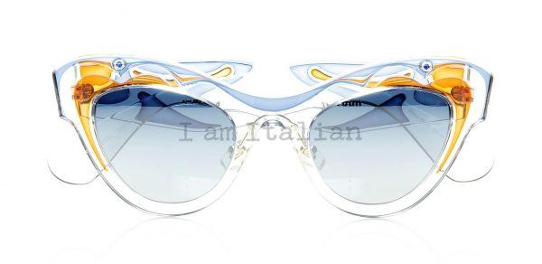 miu miu transparent butterfly sunglasses