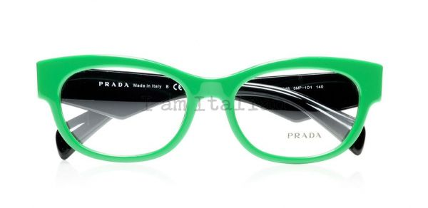 Prada voice eyeglasses 2014 green black