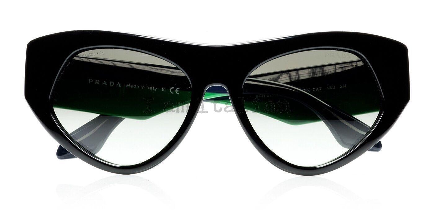 6479a5816b6a Prada voice sunglasses 2014 black green