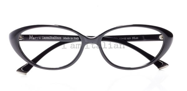 Black Butterfly eyeglasses - IamItalian&Naty Capsule