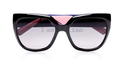 Dior rubber tempes violet pink sunglasses