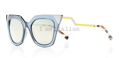 Fendi cat eye sunglasses metal details