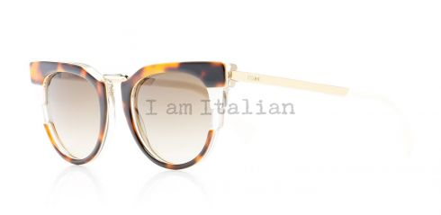 Fendi rounded havana sunglasses 2014