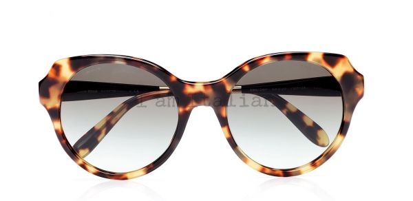 MiuMiu rounded havana sunglasses 2014