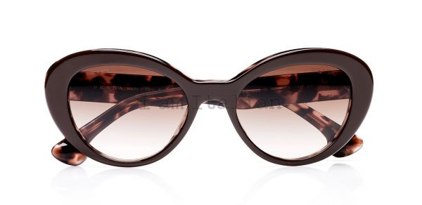 Prada portrait fashion catwalk sunglasses 2014