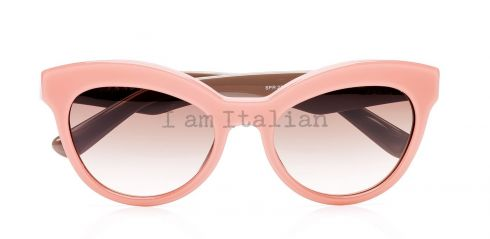 Prada triangle timeless heritage 2014 pink brown