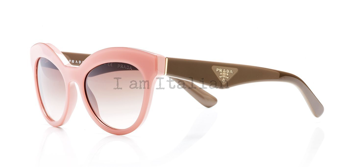 23f43284d7 ... Prada triangle timeless heritage 2014 pink brown