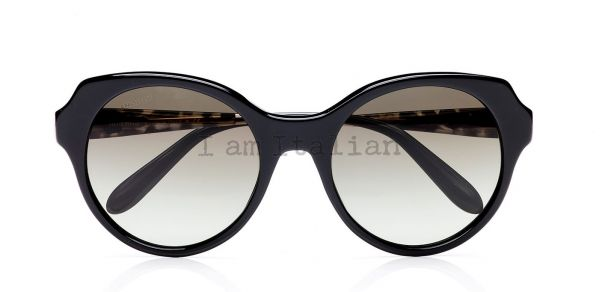 MiuMIiu black rounded sunglasses 2014