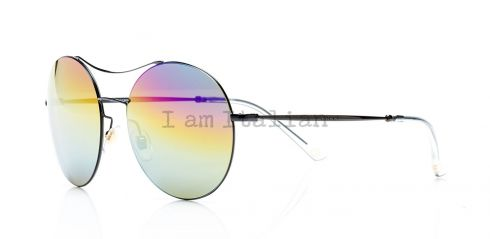 Gucci round metal sunglasses rainbow