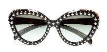 Prada studs ornate brown sunglasses 2014