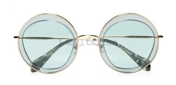 MiuMiu transparent ice grey sunglasses 2014