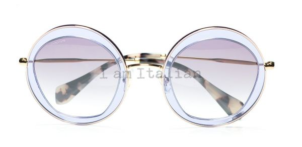 MiuMIu transparent lilac ice sunglasses 2014