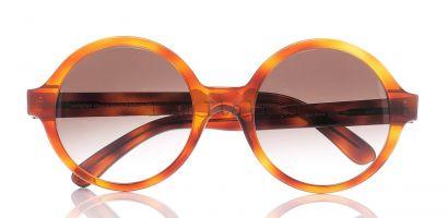 IamItalian round sunglasses tortoise